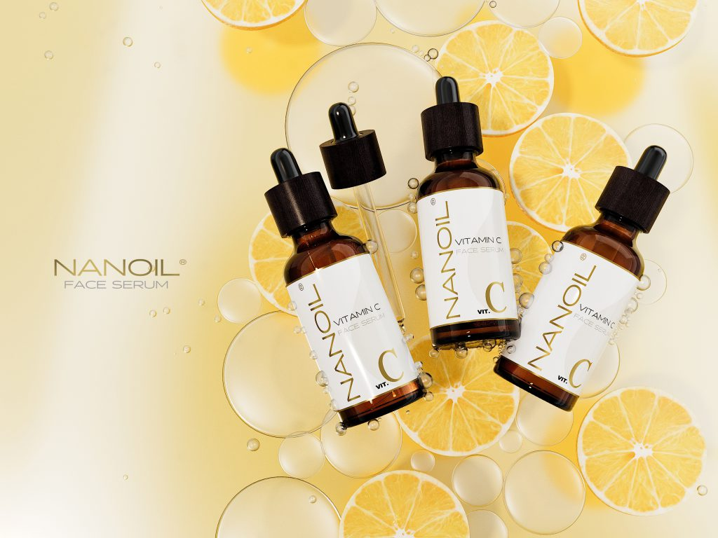 the best face serum with vitamin c Nanoil